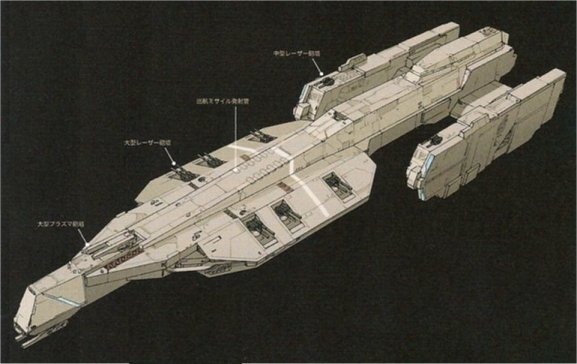 Ships Of The Line Robotech Shadow Chronicles